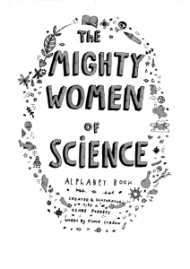 Mighty Women Of Science-An Alphabet Book!